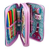 Disney Frozen Zip-Up Stationery Kit-30+ Pieces. Includes Case.