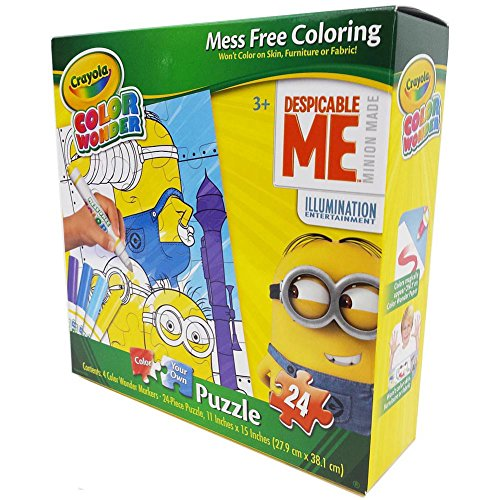 Crayola Color Wonder Despicable Me Color Puzzle