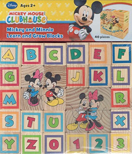 Mickey Mouse Clubhouse Mickey And Minnie Learn And Grow Blocks front-475216