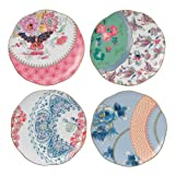 Wedgwood Butterfly Bloom 4 Tea Plates From Debenhams