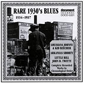 Rare 1930's Blues: 1934-1937