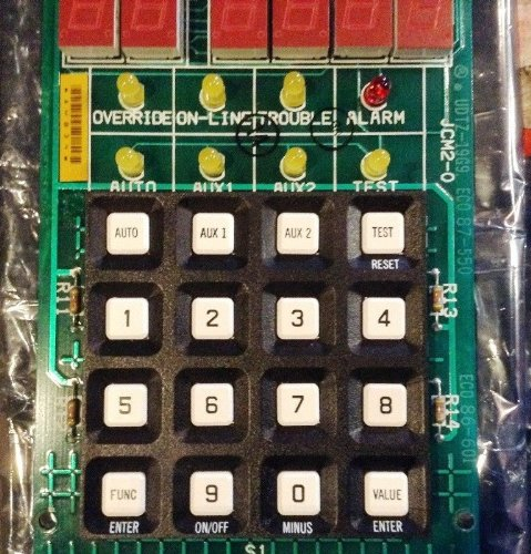 Плата реле Johnson Controls CDB-101-700 Control/Display Board Local Panel for DSC-8500