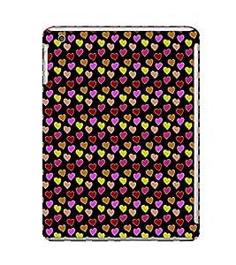 EPICCASE beddazled hearts Mobile Back Case Cover For Apple Ipad Mini 3 (Designer Case)