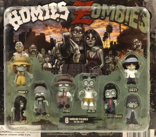 Homies Zombies Figures - Set of 8 - 1