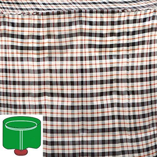 Gärtner Pötschke Tisch-Schutzhülle, beige, rund, klein günstig bestellen