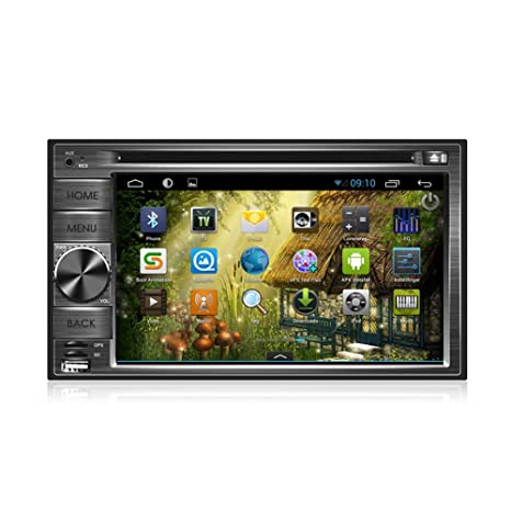 Pantalla Universal Top GPS Navi Android 4.2.2 Musique 2DIN voiture universel PC DVD FM / AM jugador GPS Wifi Bluetooth Radio 1 Go DDR3 avi CPU tš¢ctil capacitiva Electrš®nica 3G automatique estšŠreo 1,2 Go de Cubierta
