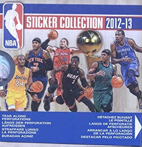 2012-13 Panini NBA Basketball Album Sticker Box [50 packs]