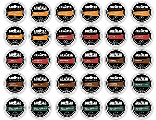 30 Count - Lavazza K-Cup Variety Pack Sampler - For Keurig K-Cup Brewers front-597228