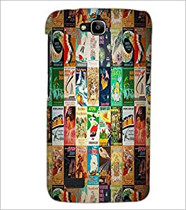 PrintDhaba Books D-2981 Back Case Cover for HUAWEI HONOR HOLLY (Multi-Coloured)