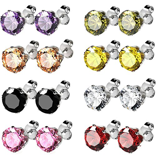 jstyle-jewelry-stainless-steel-womens-cz-stud-earrings-set-piercing-8-pairs-5mm