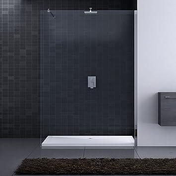 Paroi de douche pare douche verre verre de s curit douche l 39 i - Pare douche italienne ...