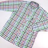 8741 【ALL】 ボタンダウンシャツ 長袖 オープンシャツ サイズ大きめ PAGELO パジェロ グリーン(緑)アソート サイズM【紳士服/メンズ/男性用】