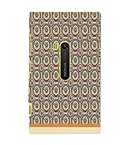 PrintDhaba Pattern D-1914 Back Case Cover for NOKIA LUMIA 920 (Multi-Coloured)