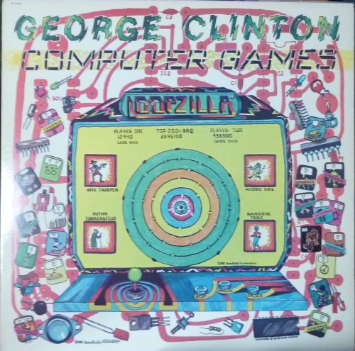 George Clinton: Computer Games Vinyl LP (George Clinton Computer Games compare prices)