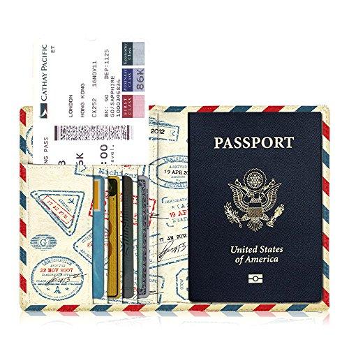 Fintie パスポートケース ホルダー トラベルウォレット スキミング防止...
