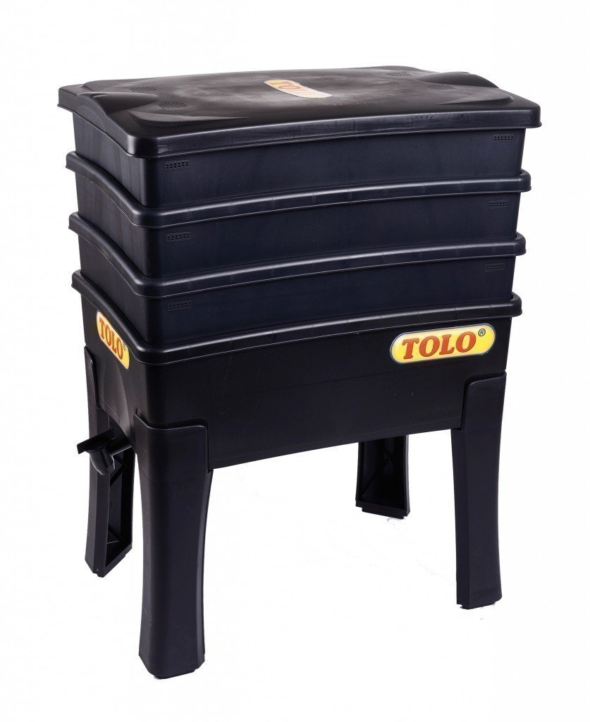 TOLO Komposter aus Kunststoff / Maße: 57,5 x 42,2 x 29,5 cm / Gewicht: 7,3 kg / für Kinder ab 5 Jahren geeignet günstig kaufen