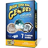 Discover with Dr. Cool Explorer Geode Science Kit, Set of 7