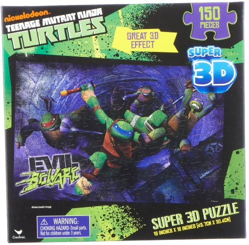 Teenage Mutant Ninja Turtles Super 3D Puzzle 150 Pieces
