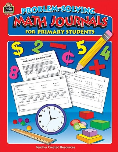 Teacher Created Resources 2963 Problem-Solving Math Journals For Primary Students