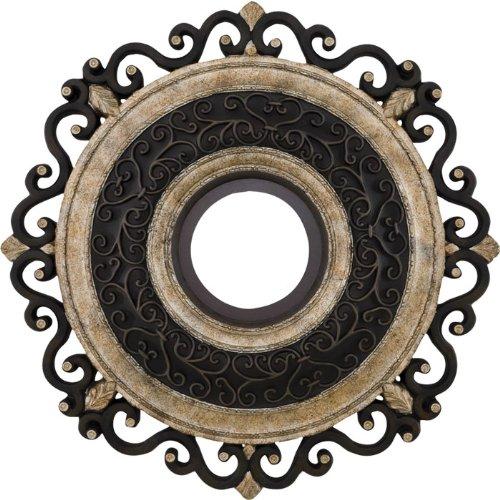 MinkaAire CM7022-STW Ceiling Medallion, Sterling Walnut