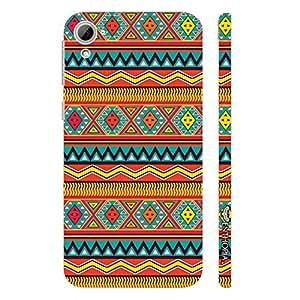 HTC Desire 826 Aztec Ten designer mobile hard shell case by Enthopia