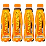Lucozade Energy Orange Drink 380ml Pack of 4 [Toy]