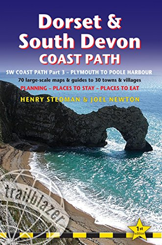 trailblazer-dorset-south-devon-coast-path-plymouth-to-poole-88-large-scale-maps-guides-to-48-towns-a
