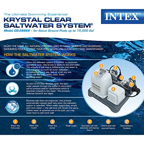 Intex Krystal Clear Saltwater System With E C O