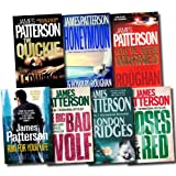 James Patterson Alex Cross Series Collection James Patterson 7 Books Set (London Bridges, Roses are Red, The Big and Bad Wolf, Run for Your Life, Honeymoon, The Quickie, You've been Warned)