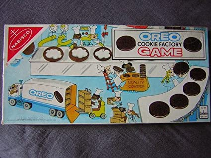 Oreo Cookie Factory Game