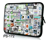 """NEW Fashion Computer motherboards signs design 15"""" 15.4"""" 15.6"""" inch Laptop Bag Case Notebook Sleeve Cover Pouch for Lenovo Idealpad Thinkpad /Dell Inspiron 1545 15 15r /Dell XPS 15z Alienware M15x /Apple Macbook Pro/ 15.5"""" Sony Vaio E Series/15.6"""" Hp Pavilion/asus/acer Aspire/SAMSUNG Computer"""