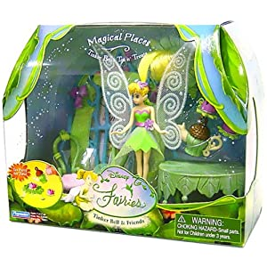 Click to buy Disney Fairies - 3.5'' Magical Places Playset Tinker Bell's Tea N' Treats from Amazon!