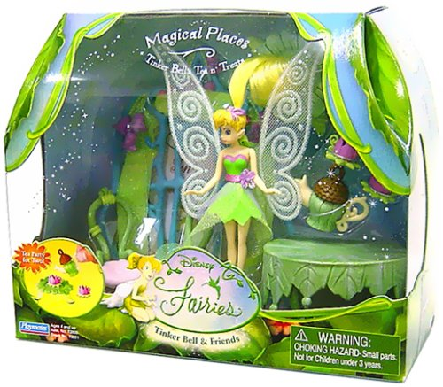 Disney Fairies - 3.5'' Magical Places Playset Tinker Bell's Tea N' Treats - Buy Disney Fairies - 3.5'' Magical Places Playset Tinker Bell's Tea N' Treats - Purchase Disney Fairies - 3.5'' Magical Places Playset Tinker Bell's Tea N' Treats (PlayMates, Toys & Games,Categories,Dolls,Playsets,Fashion Doll Playsets)