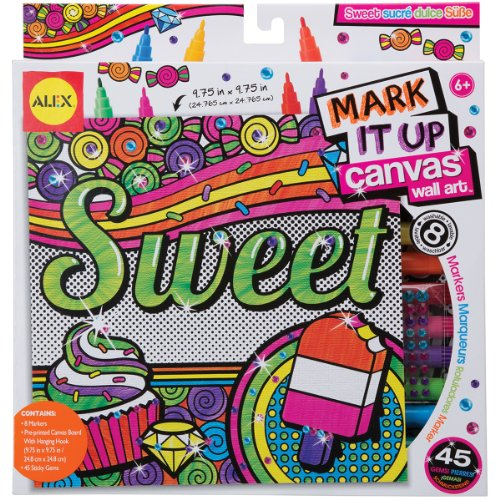 ALEX Toys Artist Studio Sweet Mark It Up Canvas Wall Art - 1