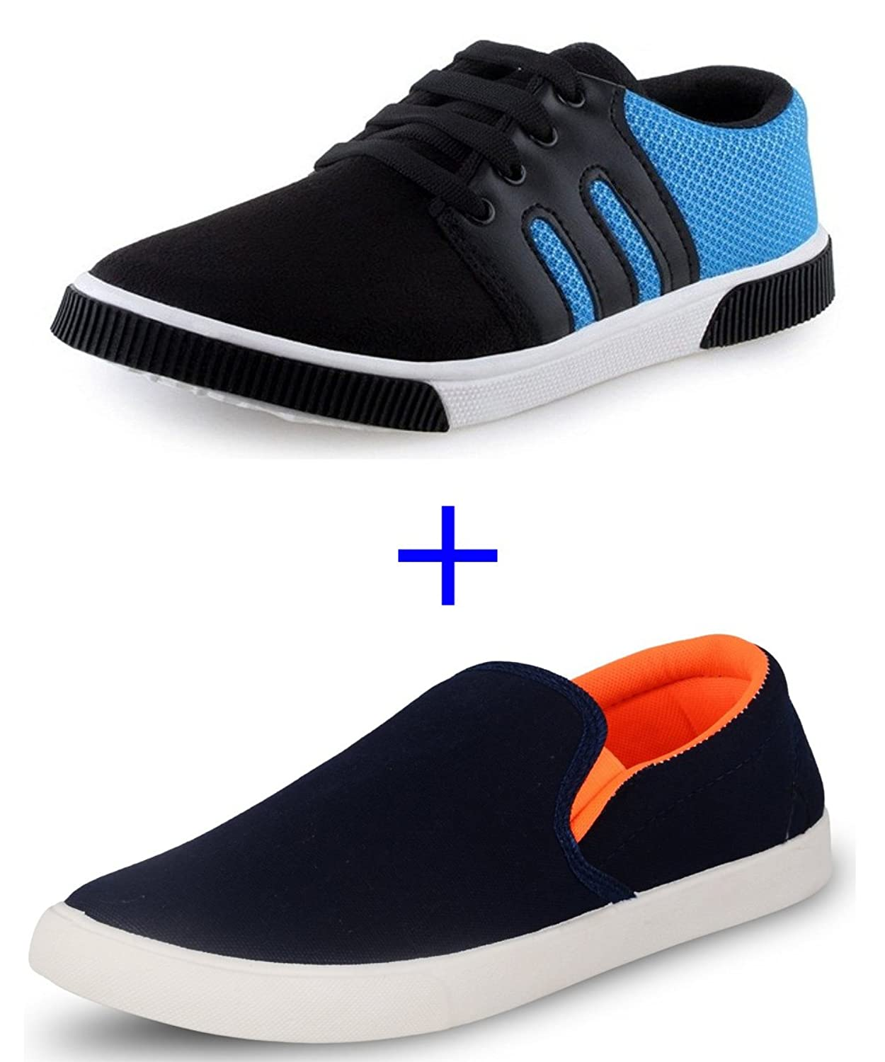 SCATCHITE Combo Casual Sneakers Loafers(pack of 2) at Rs 499