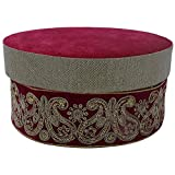 NINI's Velvet Decorative Gift Box (23 Cm X 23 Cm X 4.5 Cm)