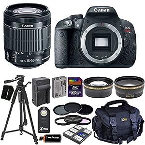 Canon EOS Rebel T5i Digital SLR Camera with 18-55mm STM + Dl Kit