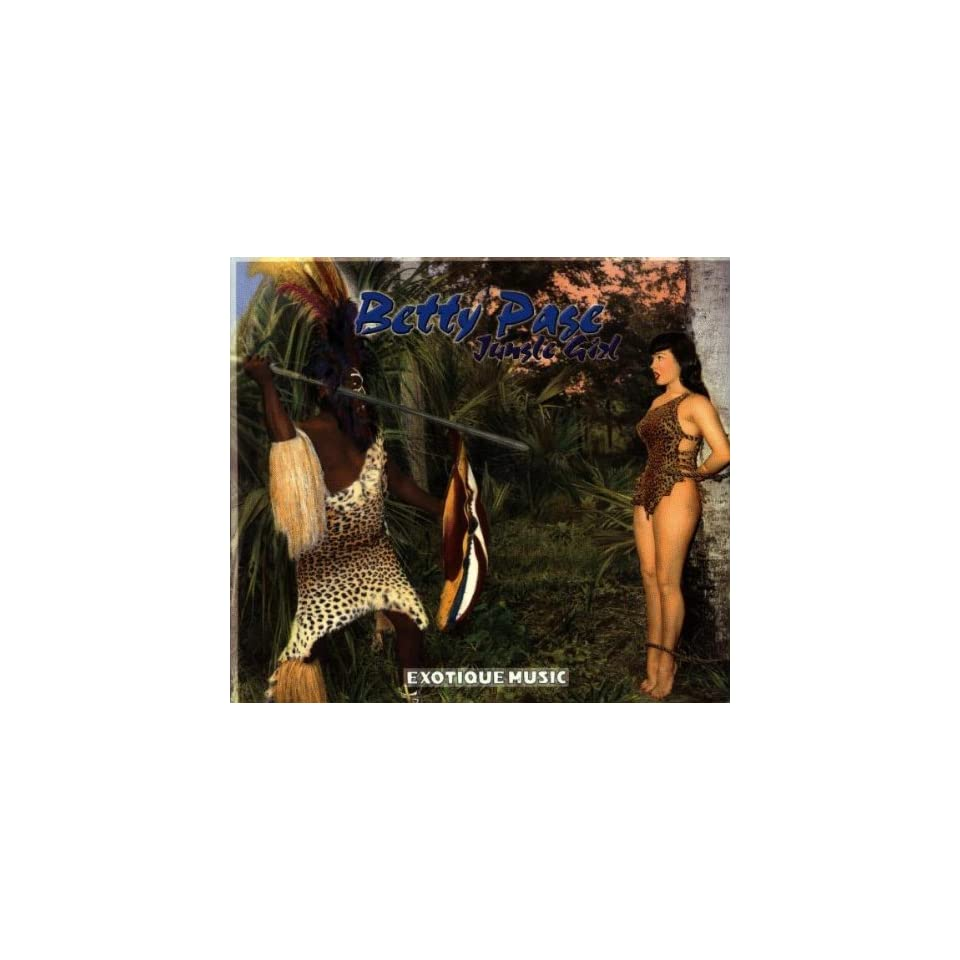 Betty Page Jungle Girl by Various Artists and Betty Page ( Audio CD