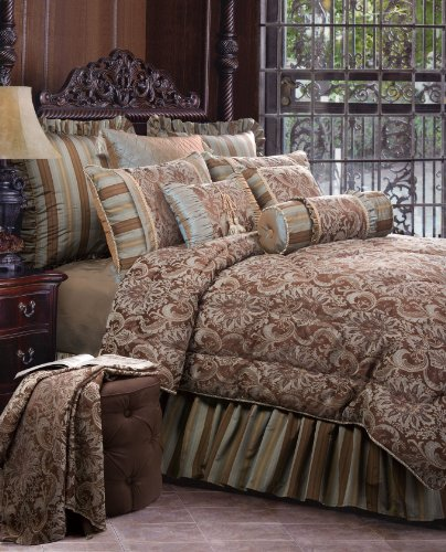 Jennifer Taylor 4 Pcs Comforter Set VELLORE Collection
