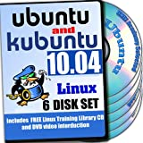 Ubuntu 10.04 LTS and Kubuntu 10.04 LTS, 6-disks DVD Installation and Reference Set