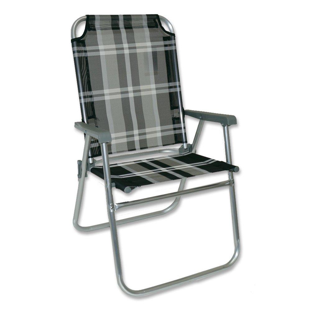 Alu-Stuhl 52 x 55 x 89 cm Klappstuhl Gartenstuhl