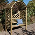 Timber Keswick Arbour OGD040