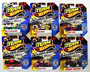Team Hot Wheels Build The Epic Race Cars