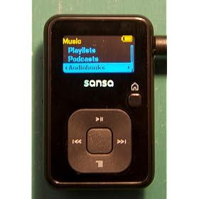 Clip Plus 4 GB MP3 Player (Black)