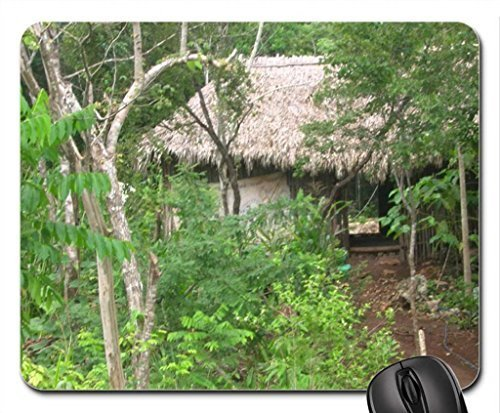 Mayan Village Mouse Pad, Mousepad (Forests Mouse Pad)