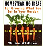 Homesteading Ideas For Growing What You Eat In Your Garden (No BS Guide On Homesteading And Self Sufficiency)