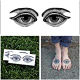 Eyes - temporary tattoos (Set of 2)