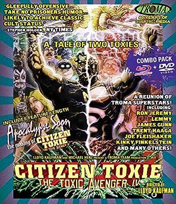 Citizen Toxie: The Toxic Avenger IV (Blu-ray + DVD Combo)
