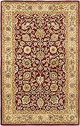 Ecarpet Timeless Dark Red RUG 5\'-0\