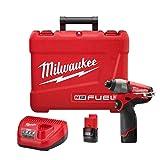 Milwaukee 2453-22 M12 12v Lithium-ion Fuel 1/4